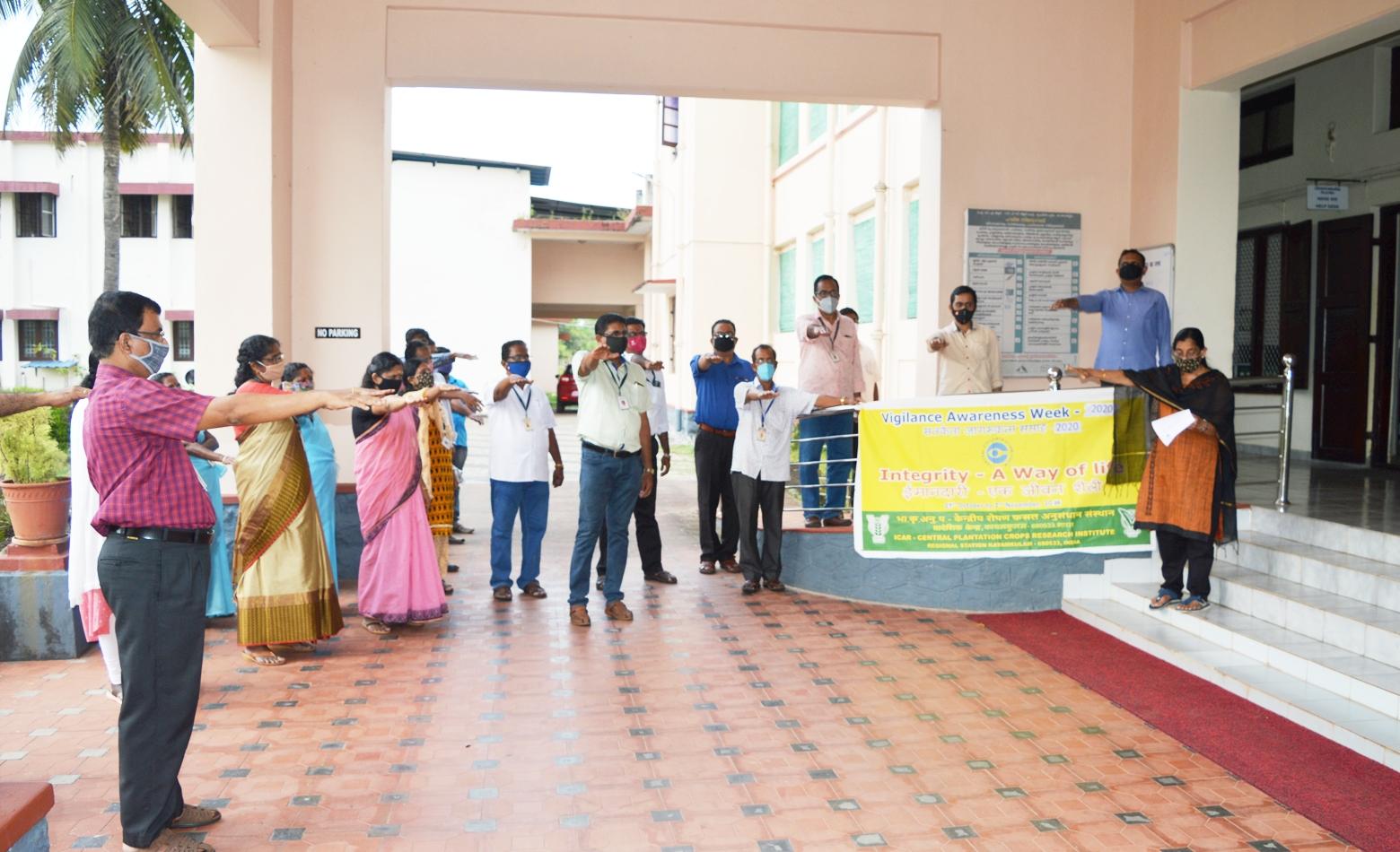 Photo for ICAR Vigilance Awareness Week commemorated at Regional Station, Kayamkulm