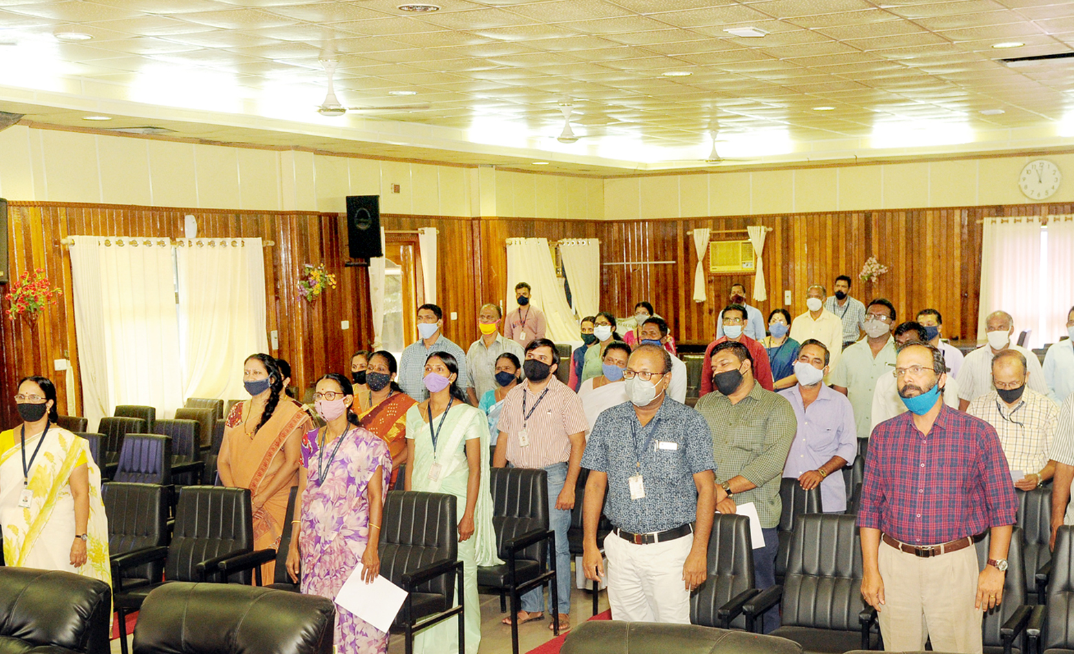 Photo for  ICAR-CPCRI Observes Constitution Day-2020